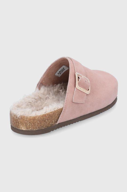 Aldo - Semišové papuče WFH  Svršek: Semišová kůže Vnitřek: Umělá hmota, Textilní materiál Podrážka: Umělá hmota