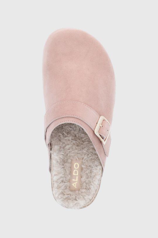 růžová Aldo - Semišové papuče WFH