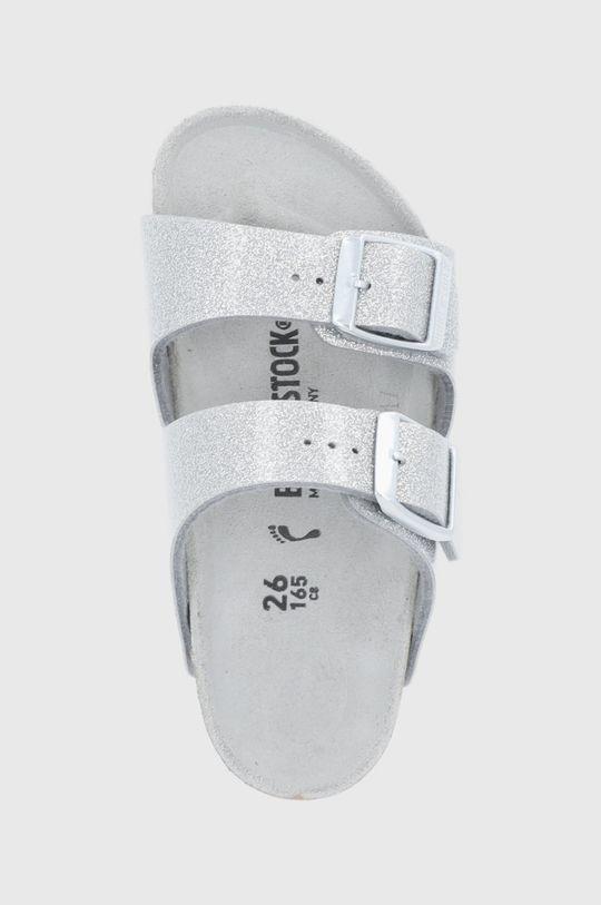 stříbrná Birkenstock - Dětské pantofle ARIZONA