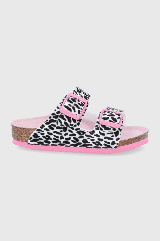 růžová Birkenstock - Dětské pantofle Arizona Dívčí