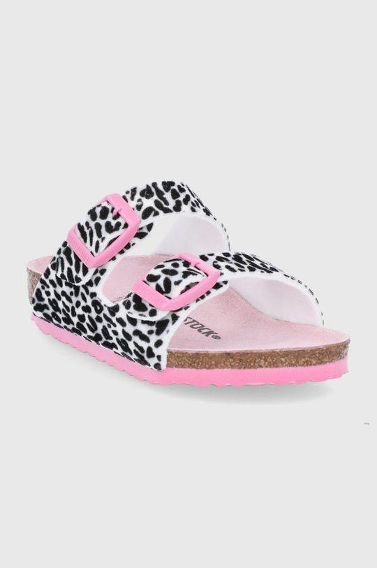 Birkenstock - Dětské pantofle Arizona růžová