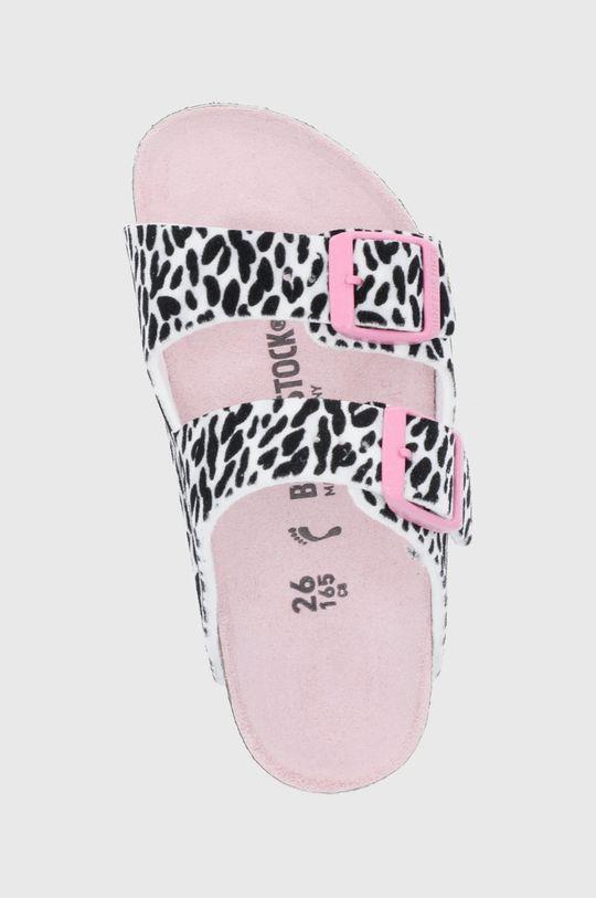 růžová Birkenstock - Dětské pantofle Arizona
