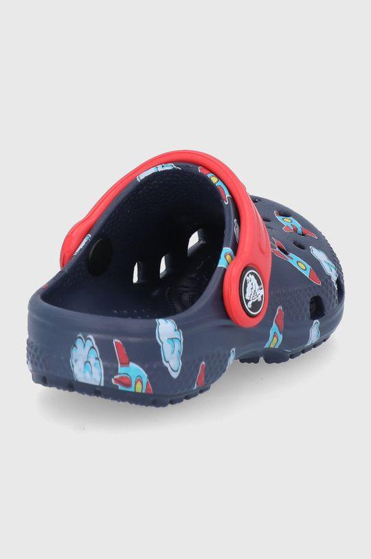 Crocs - Klapki dziecięce Classic Toddler Printed Clog Kids Cholewka: Materiał syntetyczny, Wnętrze: Materiał syntetyczny, Podeszwa: Materiał syntetyczny