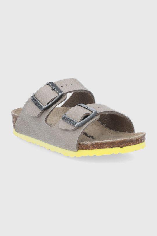 Birkenstock - Dětské pantofle Arizona béžová