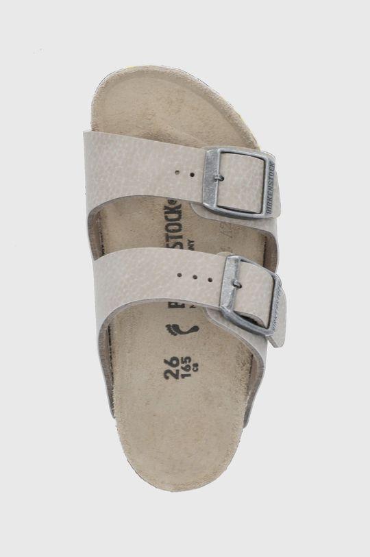 béžová Birkenstock - Dětské pantofle Arizona