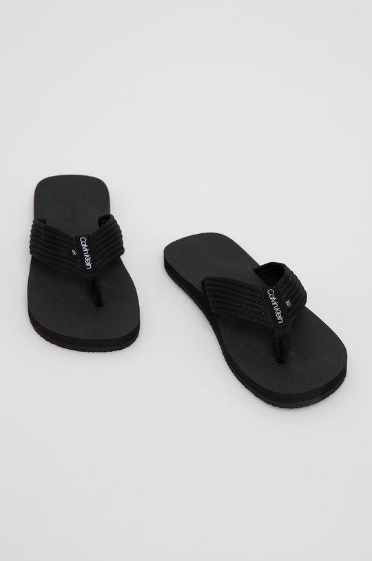 Calvin Klein Jeans - Žabky čierna