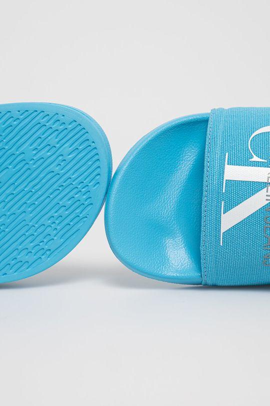 modrá Calvin Klein Jeans - Pantofle