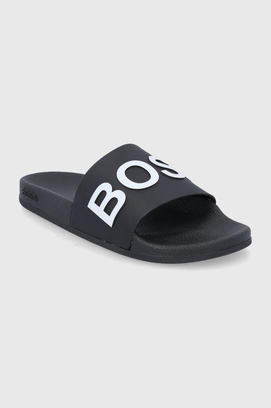 Boss - Klapki czarny
