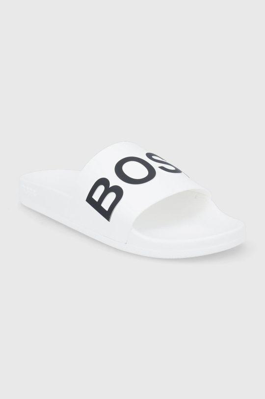 Boss - Klapki biały
