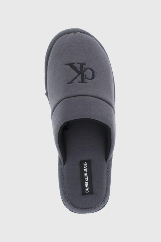 szary Calvin Klein Jeans - Kapcie