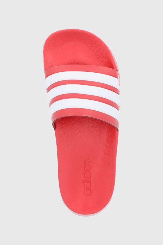 czerwony adidas - Klapki Adilette