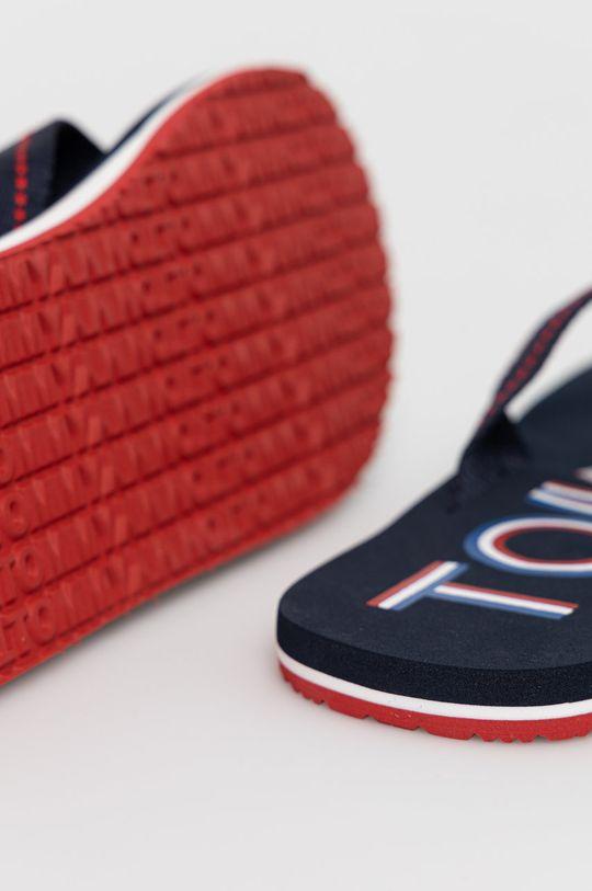 Tommy Jeans - Japonki Cholewka: Materiał tekstylny, Wnętrze: Materiał syntetyczny, Materiał tekstylny, Podeszwa: Materiał syntetyczny