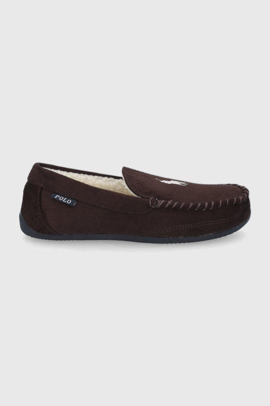 maro inchis Polo Ralph Lauren - Papuci de casa De bărbați