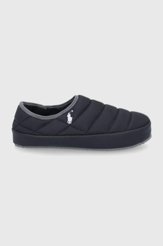 μαύρο Polo Ralph Lauren - Παντόφλες Ανδρικά