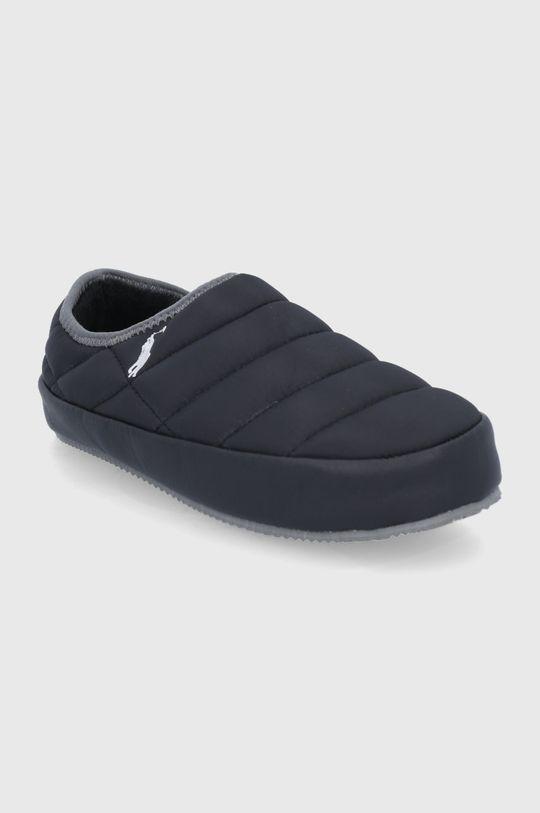 Polo Ralph Lauren - Παντόφλες μαύρο