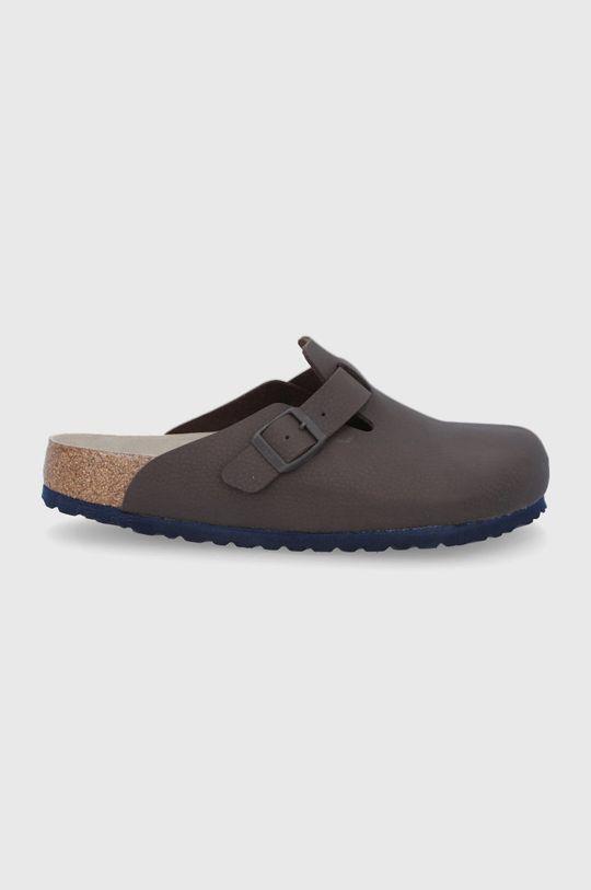 tmavě hnědá Birkenstock - Pantofle Boston Pánský