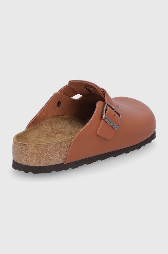 Birkenstock - Kožené pantofle Boston  Svršek: Přírodní kůže Vnitřek: Textilní materiál, Přírodní kůže Podrážka: Umělá hmota