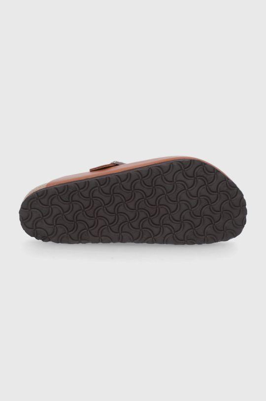 Birkenstock - Kožené pantofle Boston Unisex