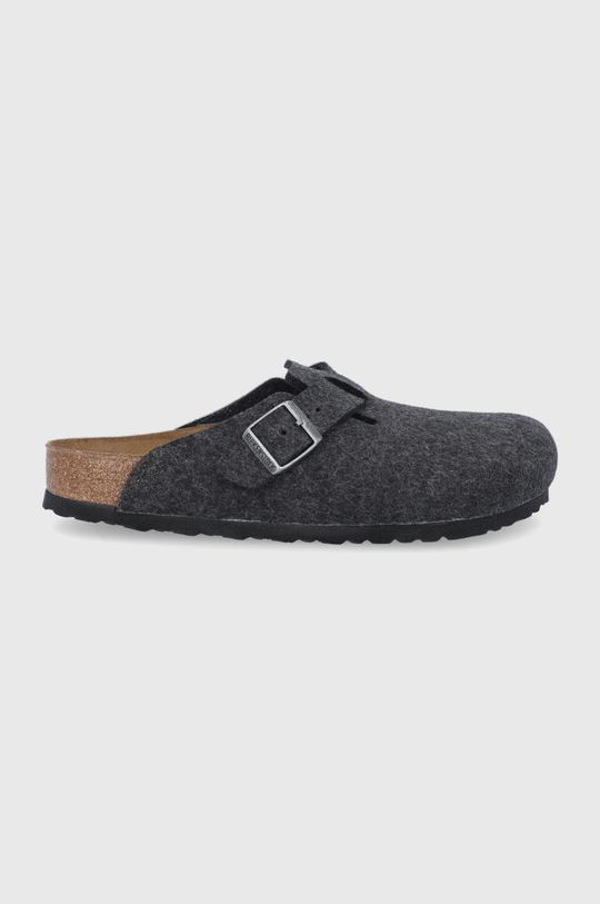 námořnická modř Birkenstock - Kožené papuče Boston Unisex