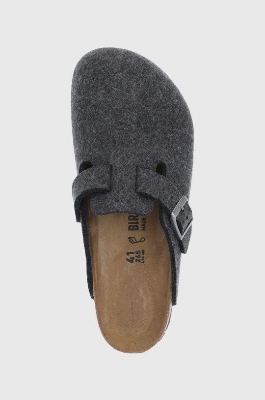 námořnická modř Birkenstock - Kožené papuče Boston
