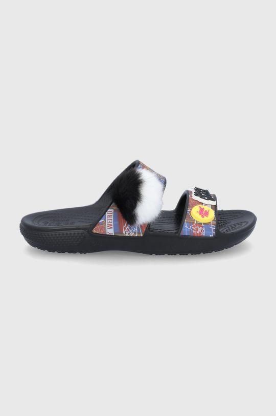 czarny Crocs - Klapki X Cruella Unisex