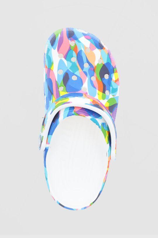 niebieski Crocs - Klapki Classic Bubble Block Clog