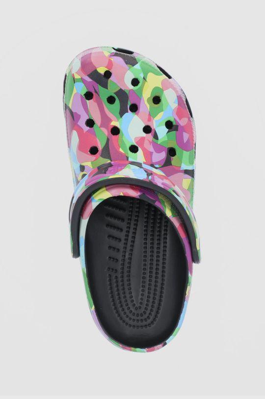 multicolor Crocs - Klapki Classic Bubble Block Clog