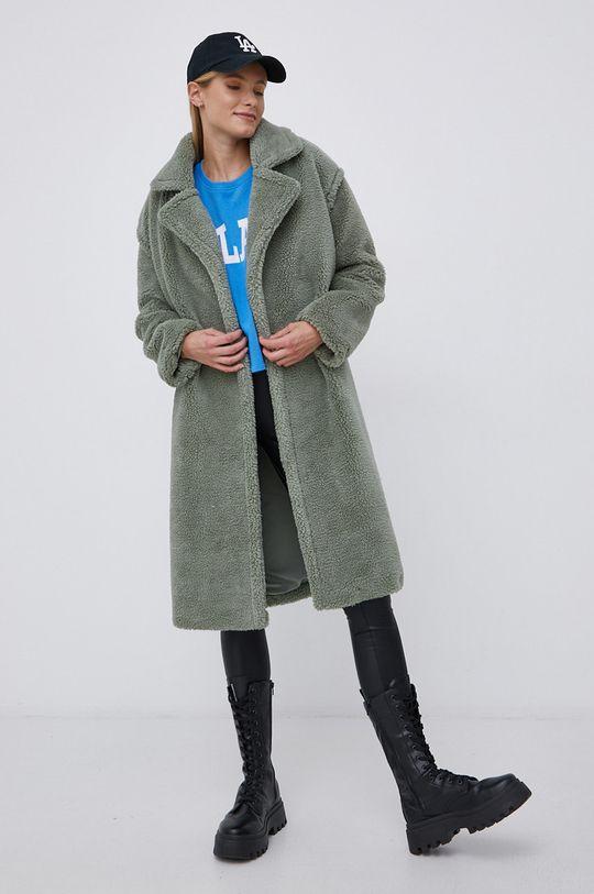 Only - Płaszcz zielony