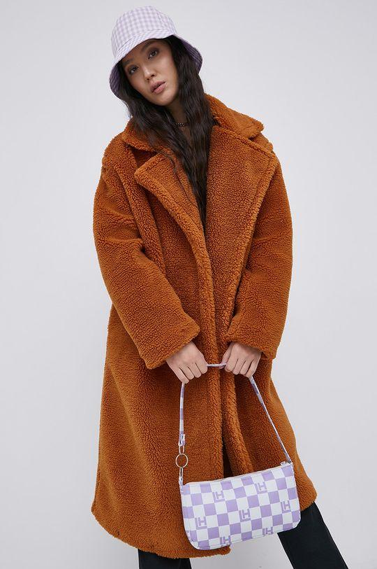 Only - Płaszcz brązowy