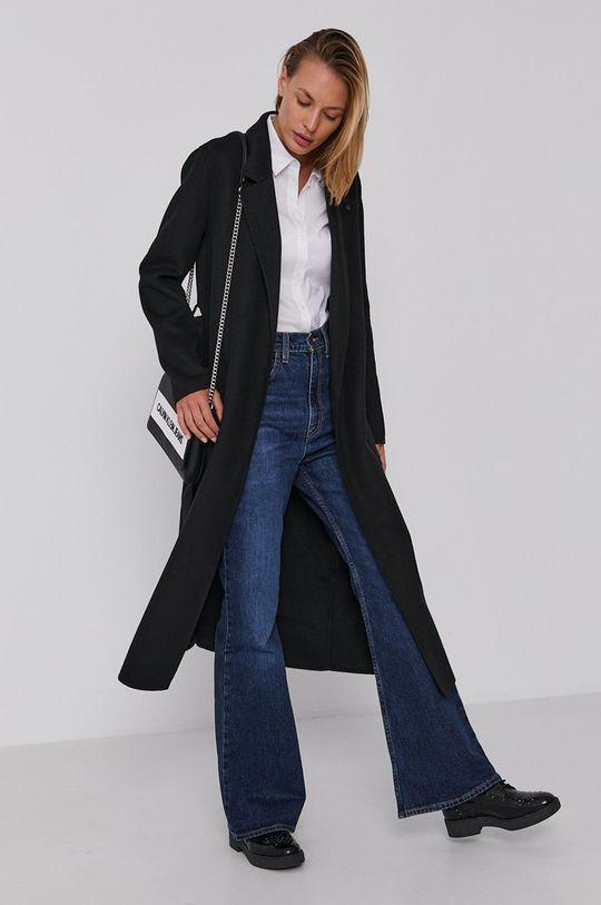 Calvin Klein - Płaszcz czarny