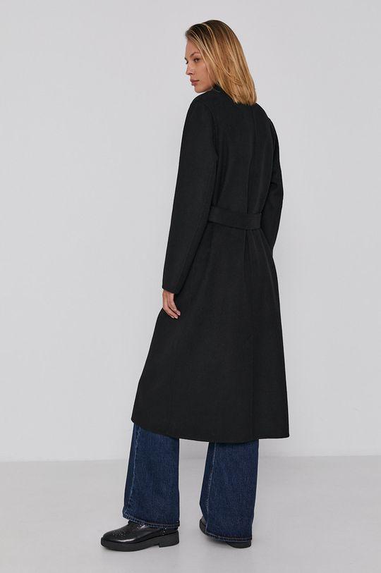 Calvin Klein - Płaszcz 53 % Poliester, 47 % Wełna