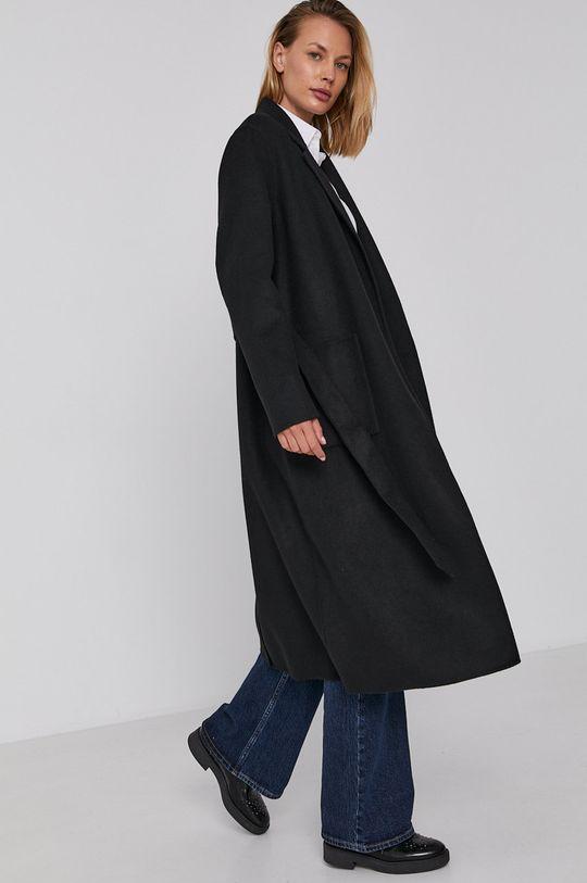 czarny Calvin Klein - Płaszcz