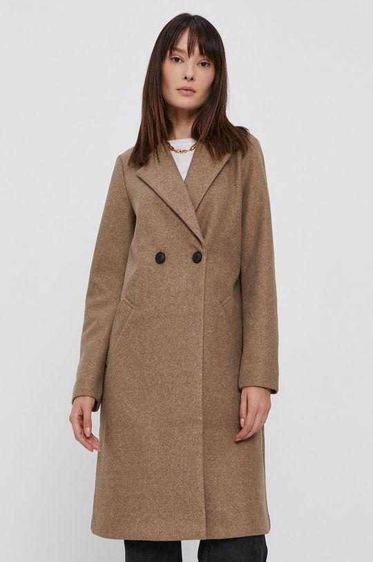 béžová Vero Moda - Kabát Dámský