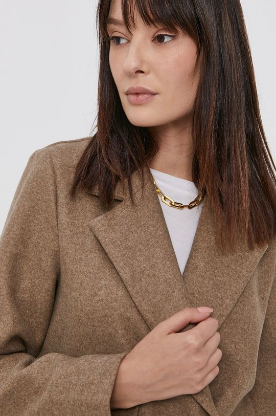 béžová Vero Moda - Kabát