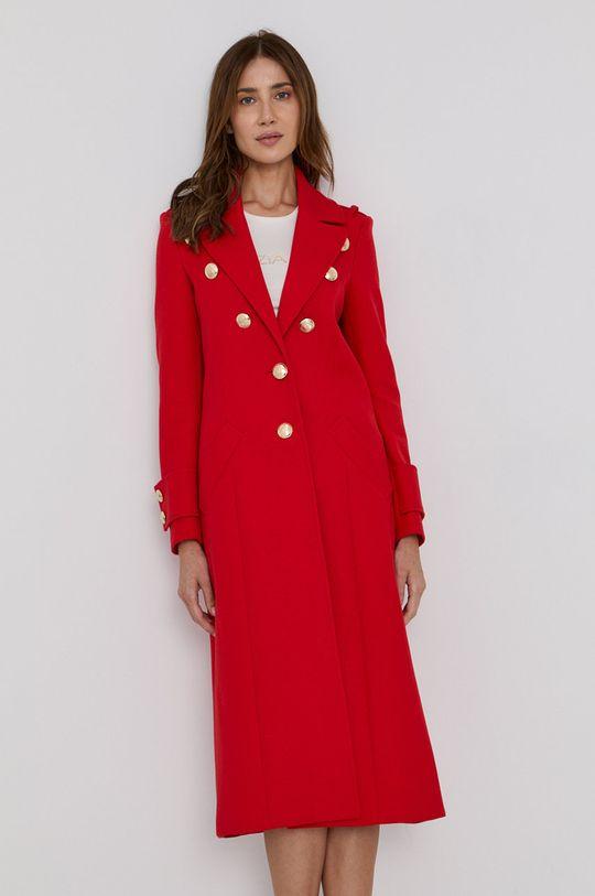 Patrizia Pepe - Kabát červená