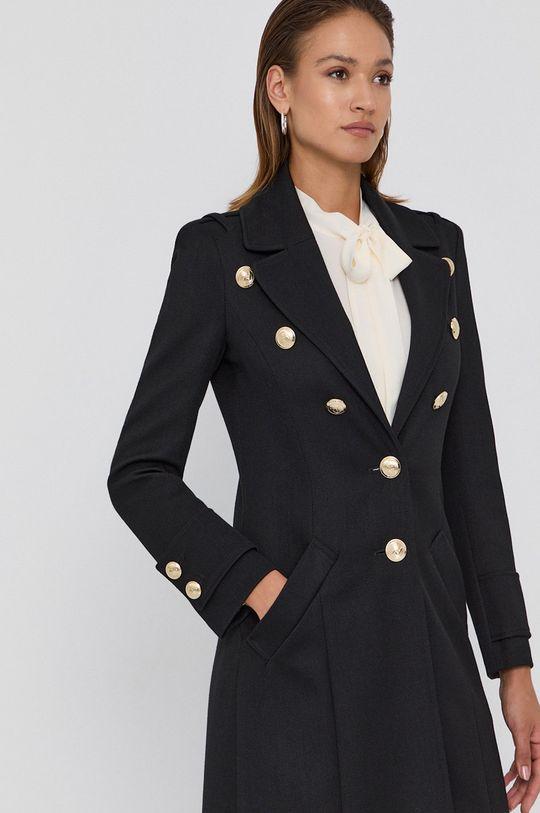 černá Patrizia Pepe - Kabát