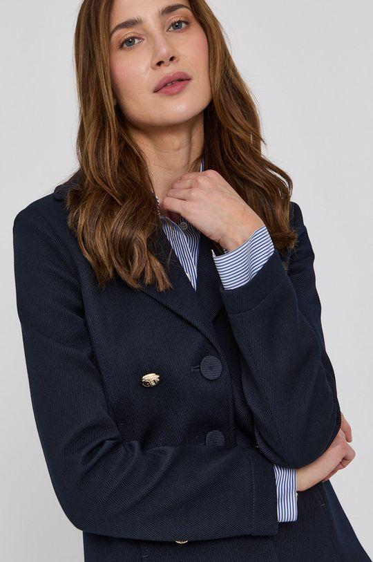 námořnická modř Patrizia Pepe - Kabát
