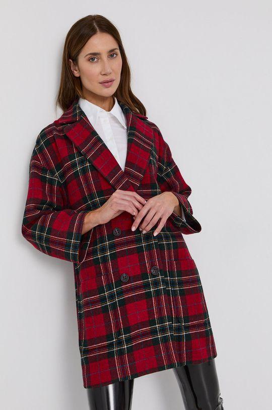 červená Red Valentino - Kabát Dámský