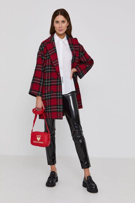 Red Valentino - Kabát červená