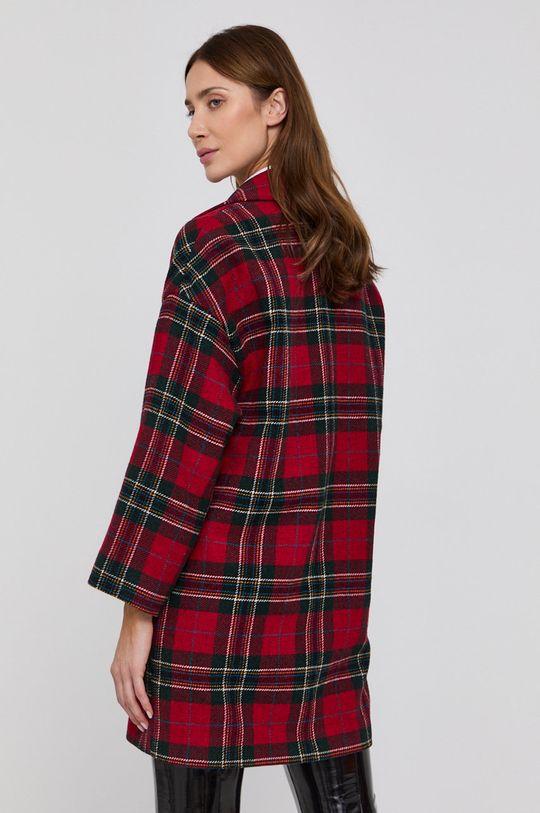 Red Valentino - Kabát  Hlavní materiál: 100% Vlna Podšívka rukávů: 64% Acetát, 36% Polyester