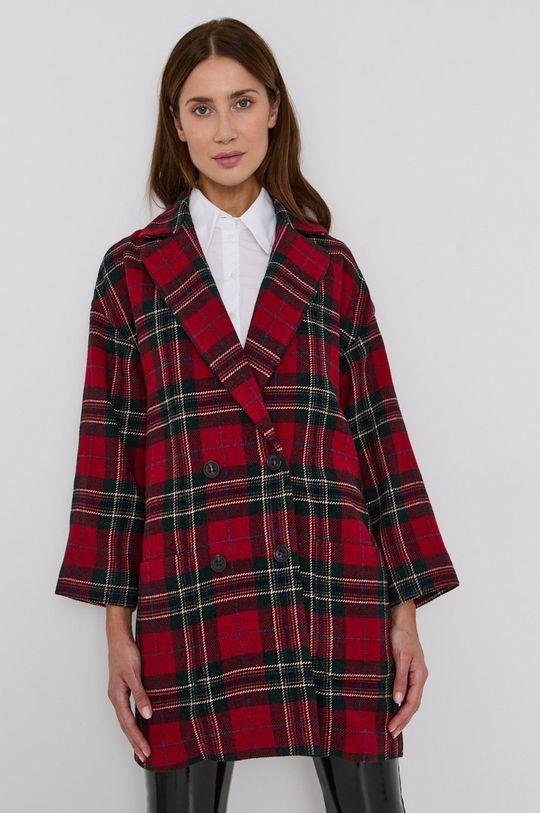 červená Red Valentino - Kabát