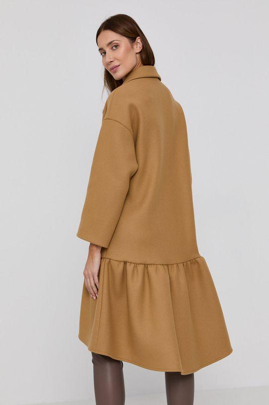 Red Valentino - Kabát  Hlavní materiál: 7% Kašmír, 22% Polyamid, 71% Vlna Podšívka rukávů: 64% Acetát, 36% Polyester