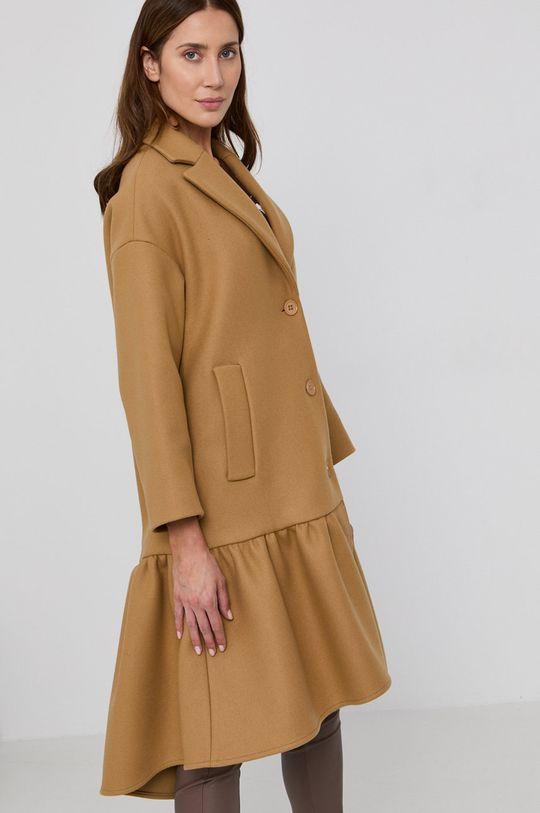 béžová Red Valentino - Kabát
