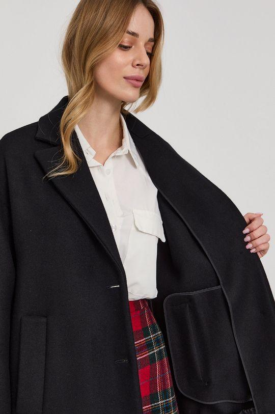 černá Red Valentino - Kabát
