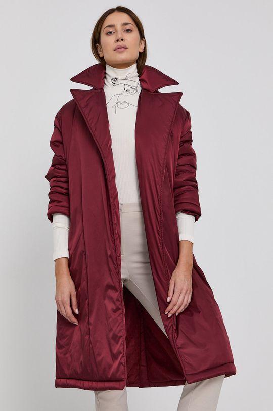 kaštanová Red Valentino - Kabát Dámský