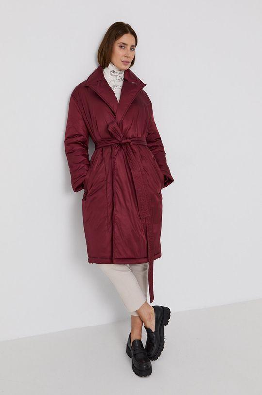 kaštanová Red Valentino - Kabát