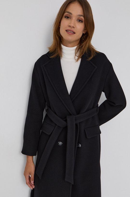 czarny Pinko - Płaszcz