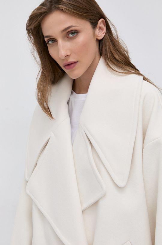 kremowy Twinset - Płaszcz