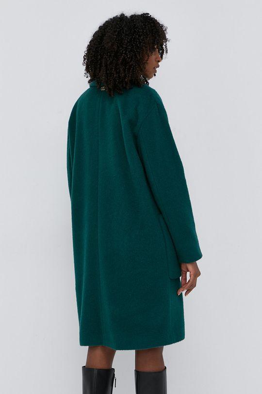 Twinset - Vlněný kabát  Podšívka: 68% Acetát, 32% Polyester Hlavní materiál: 5% Mohér, 20% Polyamid, 65% Vlna, 10% Alpaka