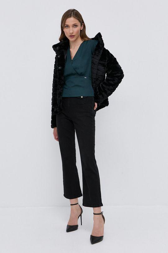 Lauren Ralph Lauren - Płaszcz czarny